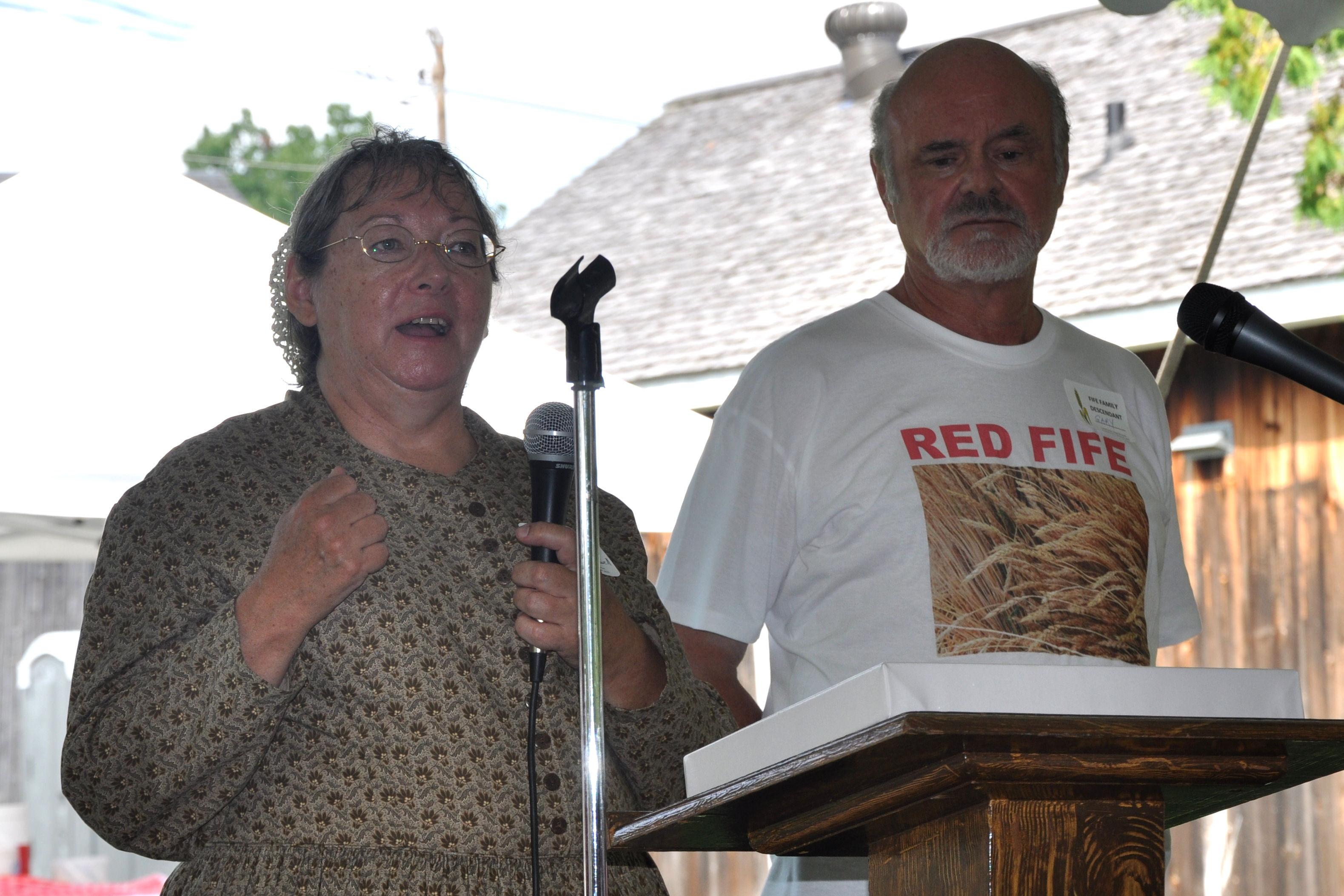 Heather Caldwell, Gary Fife