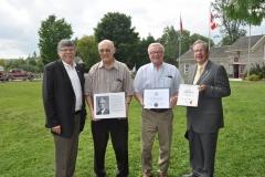 J Murray Jones, Paul Cavers, John McMillan, Jeff Leal