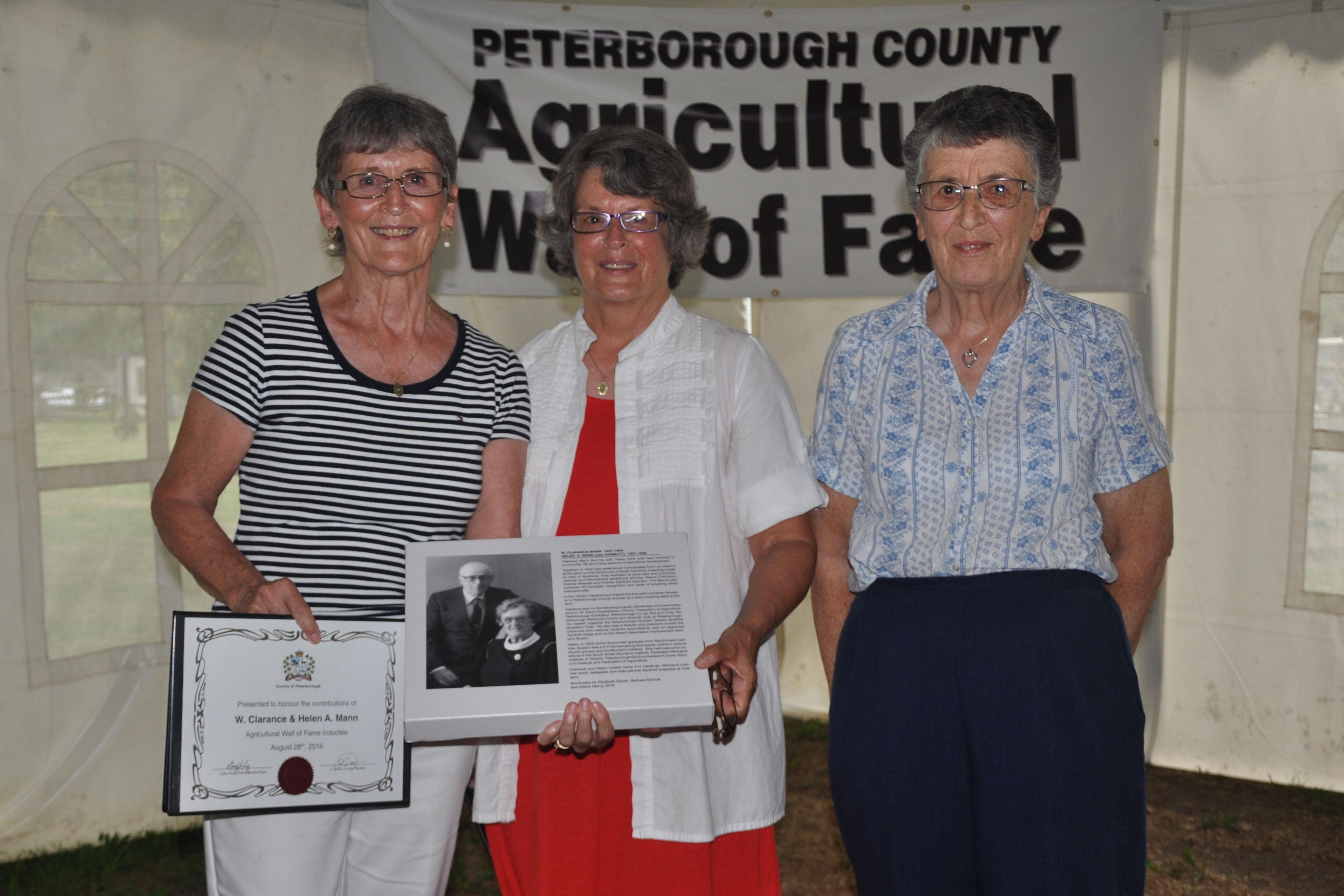 Ailene Henry, Elizabeth Glover, Barbara Nichols
