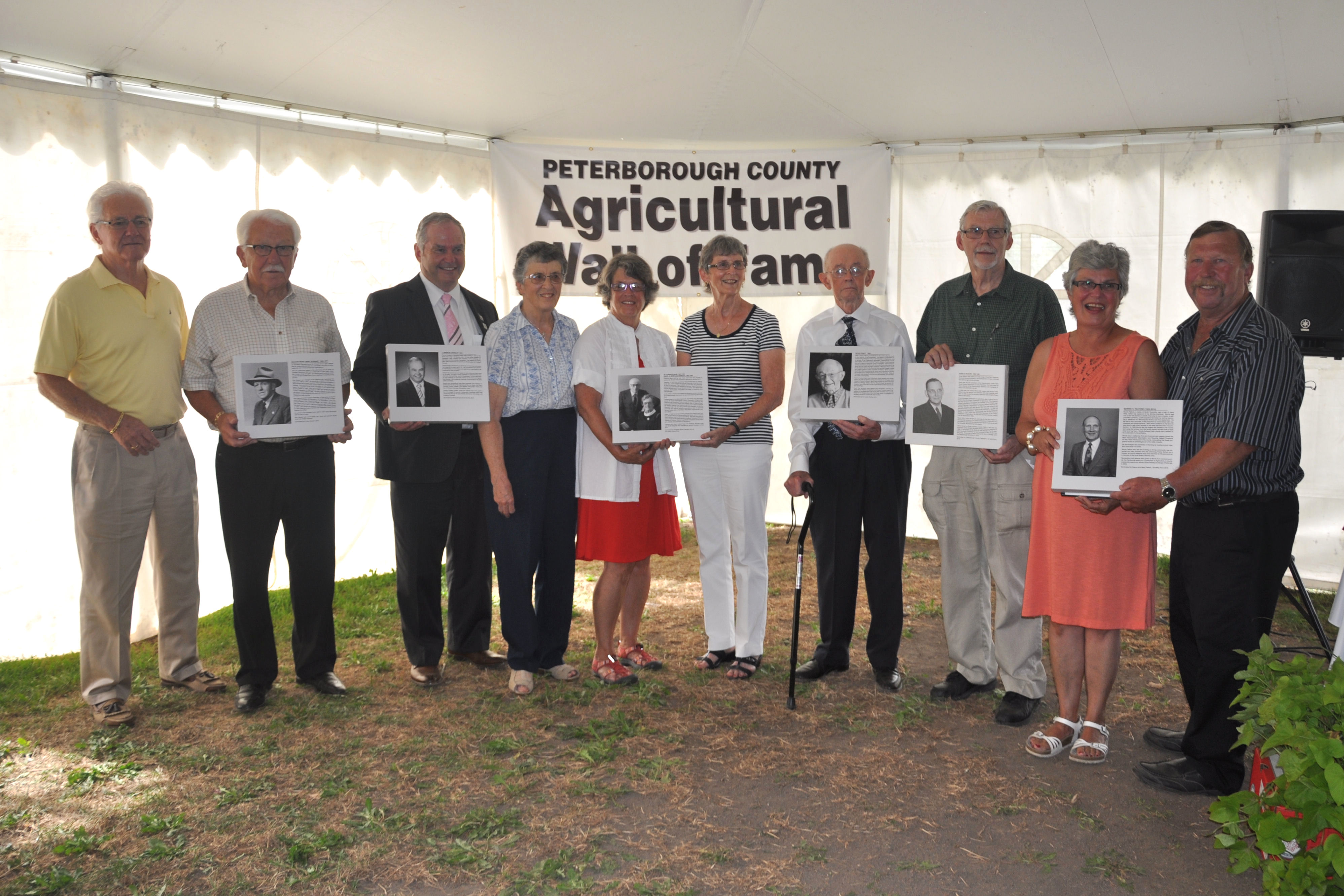 2016 Ag Wall Inductees or Family Representatives