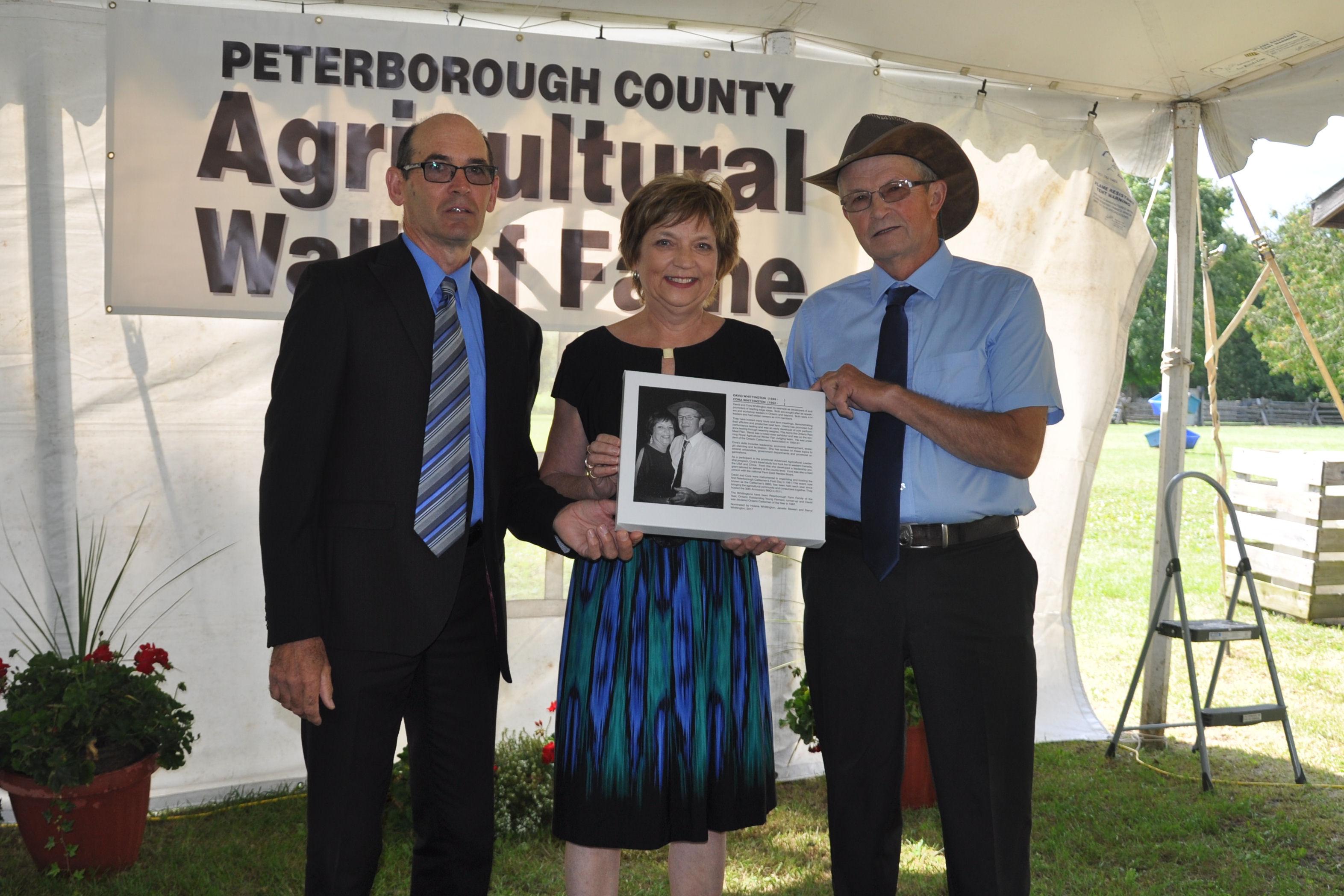 Wayne Warner, Cora and David Whittington