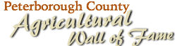 Peterborough County Agricultural Wall of Fame