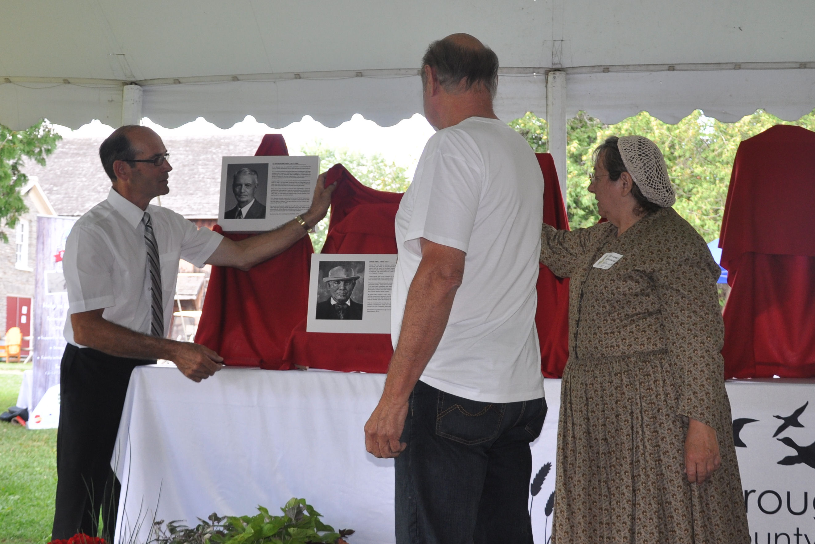 Unveiling of David Fife
