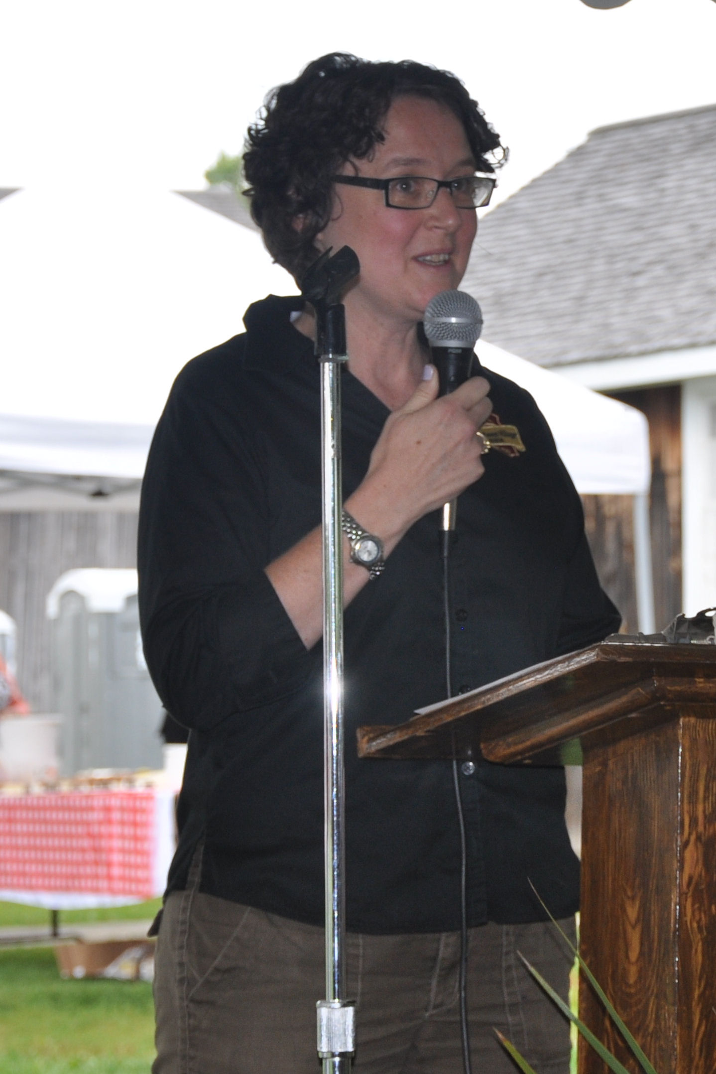 Laurie Siblock, Lang Pioneer Village Welcome