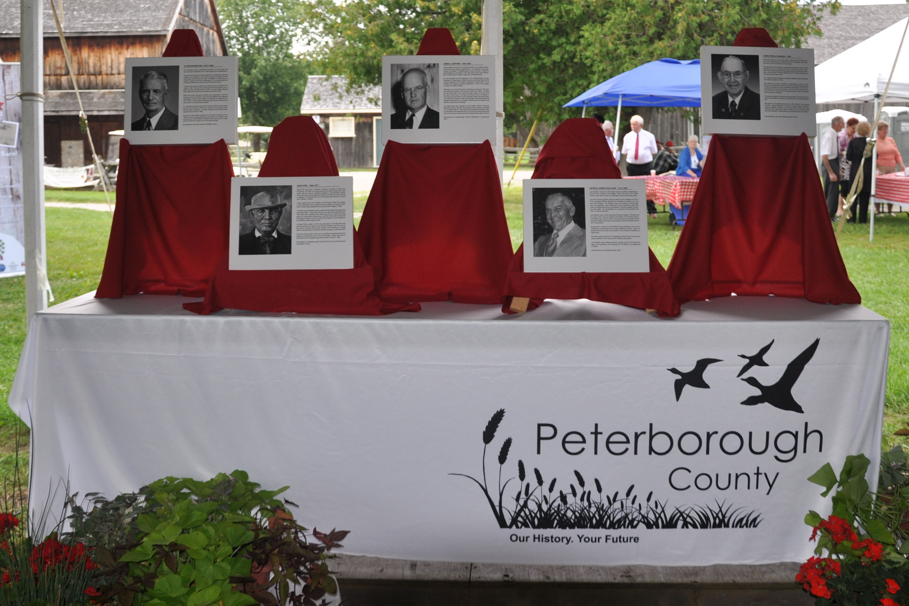 2015 Peterborough Agricultural Wall of Fame Inductees