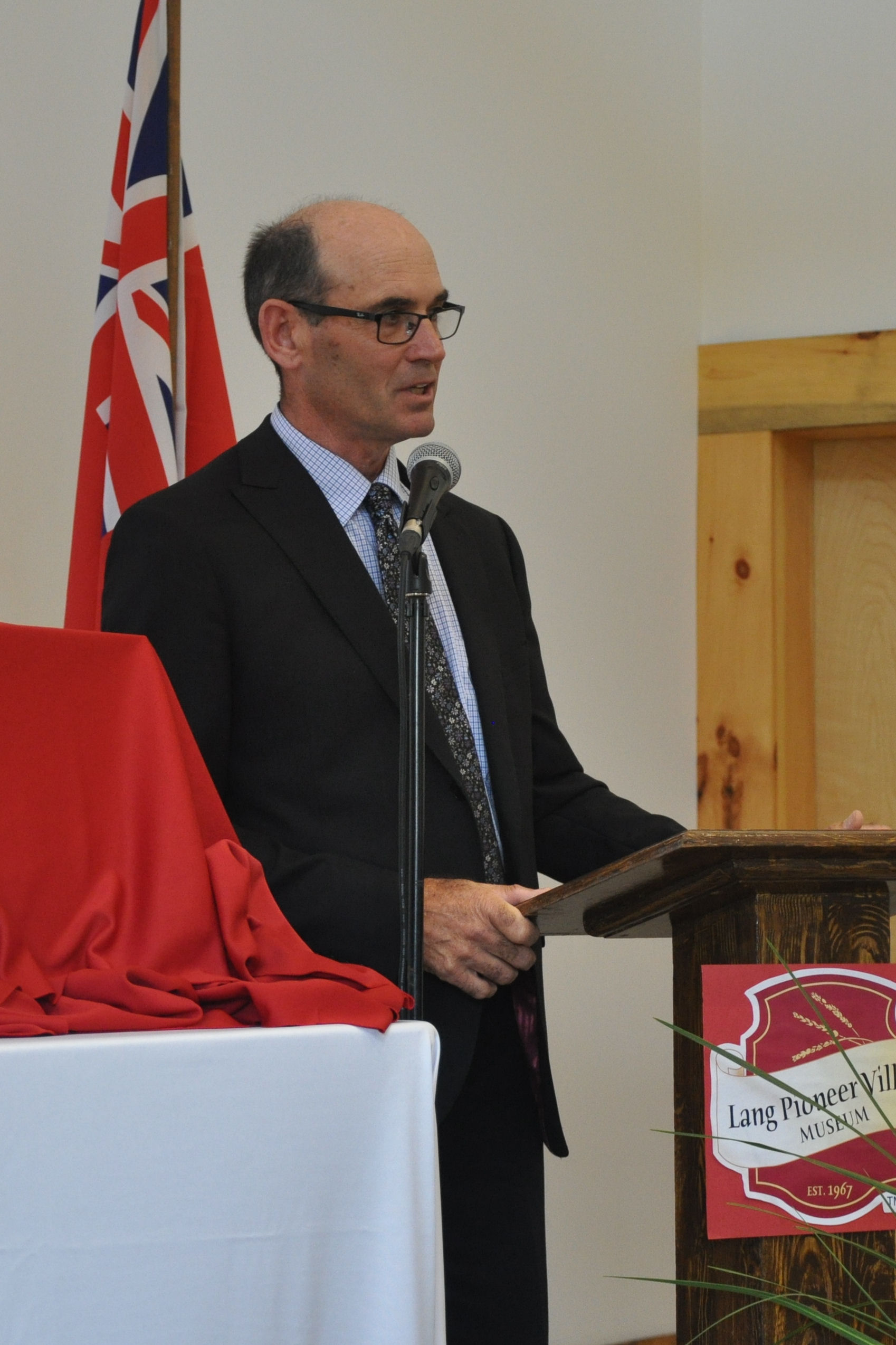 Wayne Warner, chair of Peterborough Ag  Wall of Fame