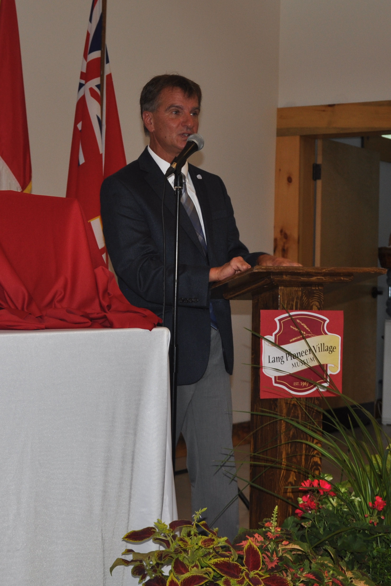 Joe Taylor, Warden of Peterborough County