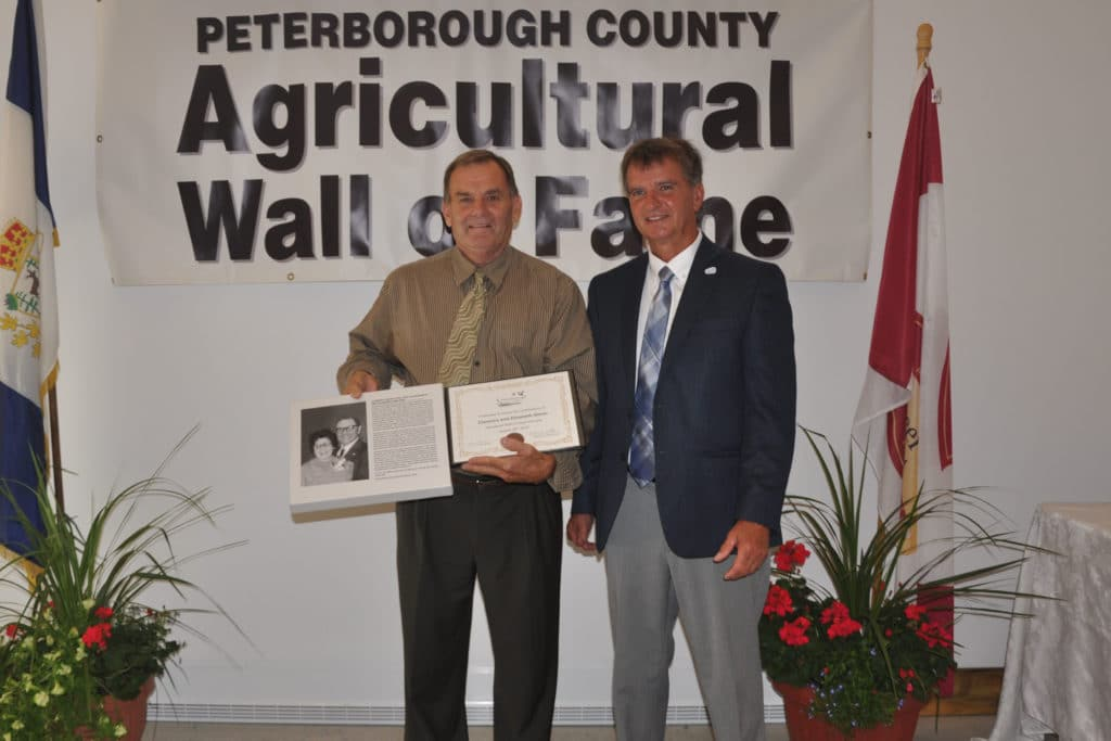Jim Glenn, Joe Taylor, warden of Peterborough County