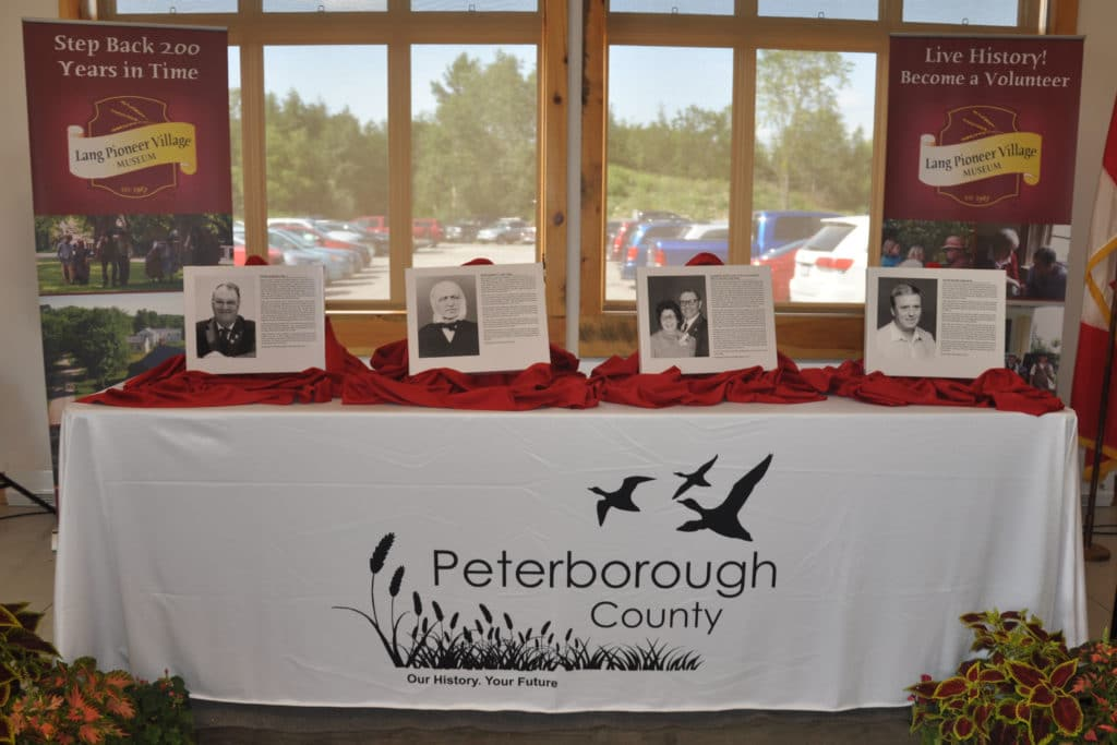 2018 Peterborough Ag Wall Inductees
